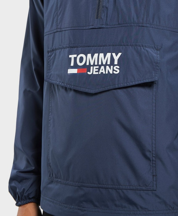 Tommy Jeans Pop Over Lightweight Anorak Jacket