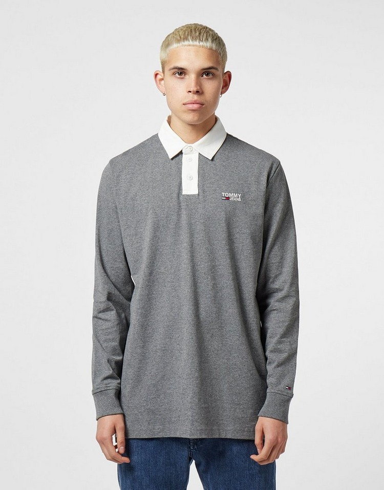 Tommy Jeans Rugby Long Sleeve Polo Shirt