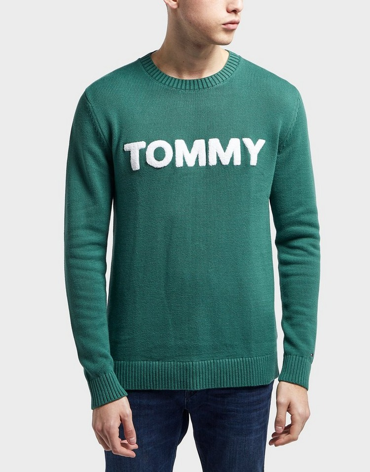 Tommy Jeans Bold Logo Knitted Jumper