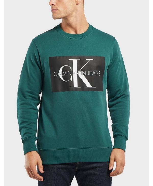 6ff9fb6f Calvin Klein Monogram Box Logo Sweatshirt | scotts Menswear