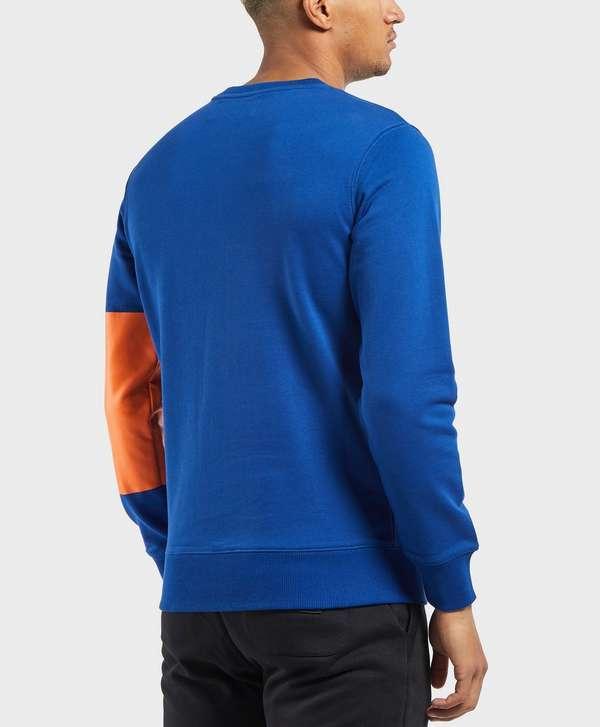 7fba4dad8 Calvin Klein Print Patch Logo Sweatshirt | scotts Menswear