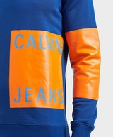 Calvin Klein Print Patch Logo Sweatshirt