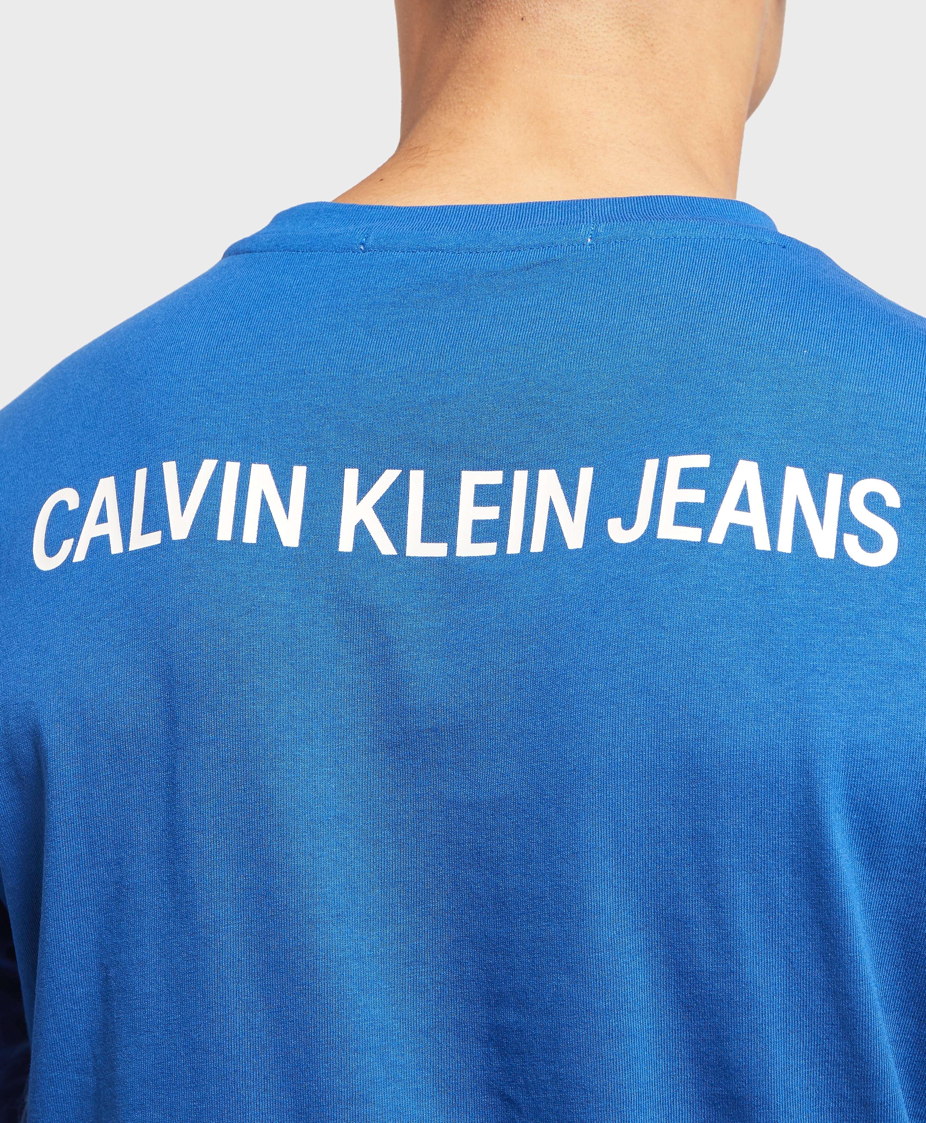 Calvin Klein Institutional Back Logo Short Sleeve T-Shirt