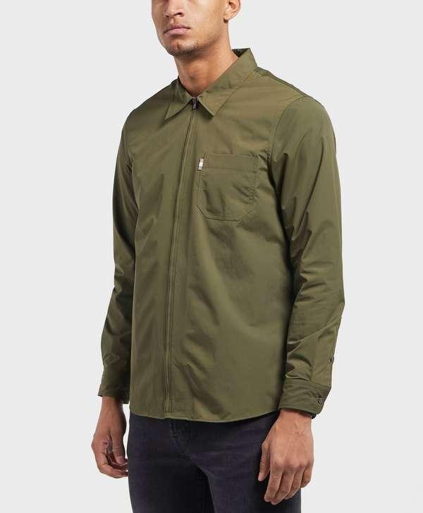 cc1e809118e Aquascutum Brodie Zip Overshirt   scotts Menswear
