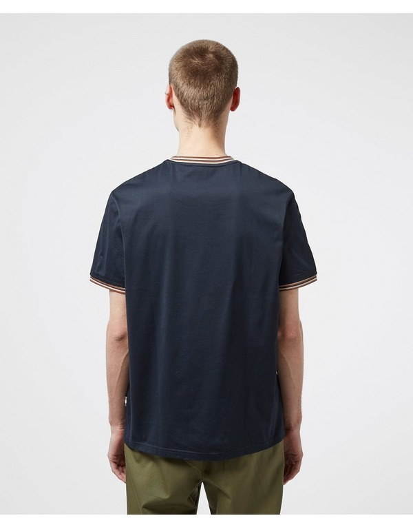 Aquascutum Mercer Short Sleeve Tipped T-Shirt