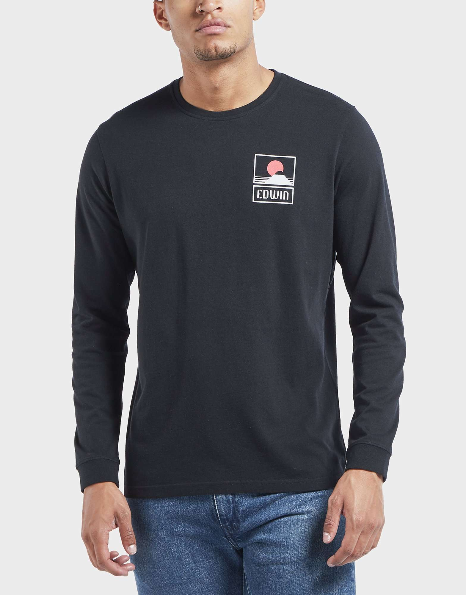 Edwin Sunset Fuji Long Sleeved T-Shirt