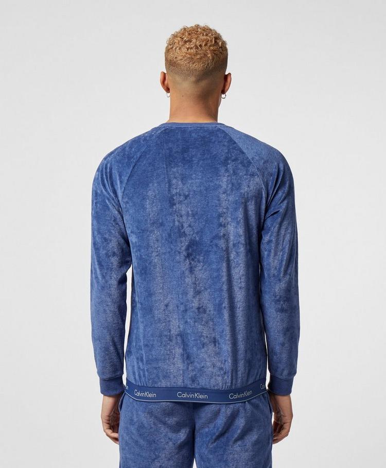 Calvin Klein Velour Crew Sweatshirt