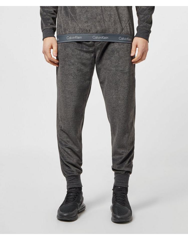 Calvin Klein Velour Cuffed Fleece Pants