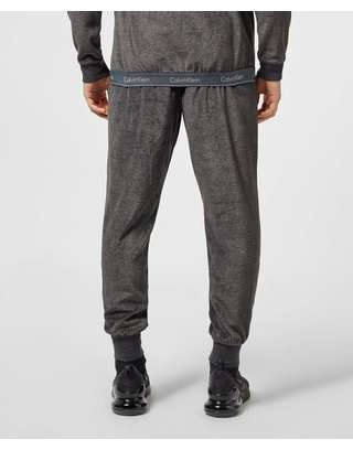 Calvin Klein Velour Cuffed Fleece Pants