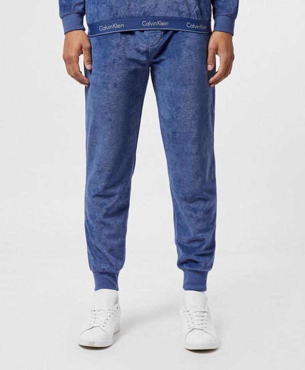 Calvin Klein Jeans Velour Cuffed Fleece Pants