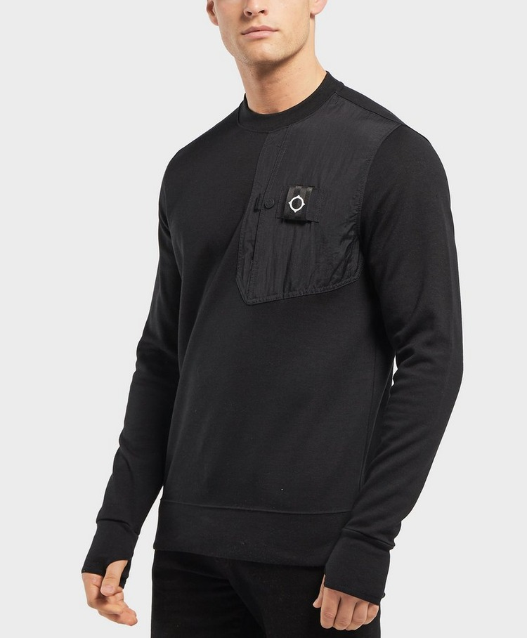 MA STRUM Panel Pocket Sweatshirt