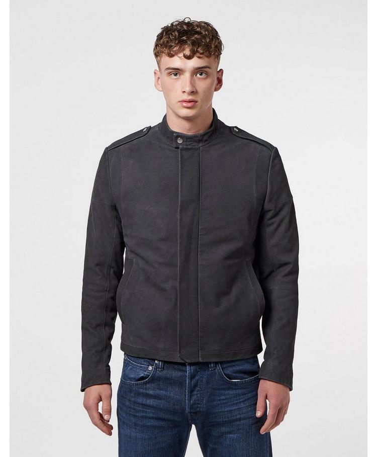 HUGO Locan Leather Jacket