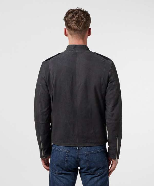 HUGO Locan Leather Jacket