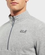 Jack Wolfskin Gecko Half Zip Fleece Sweatshirt