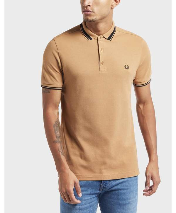 Fred Perry Contrast Tipped Short Sleeve Polo Shirt