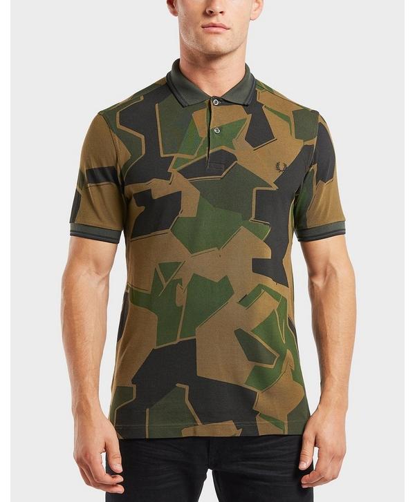eb1274e7 Fred Perry x Arktis Camo Pique Short Sleeve Polo Shirt | scotts Menswear