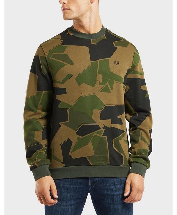 ad45e973 Fred Perry x Arktis Camo Sweatshirt | scotts Menswear
