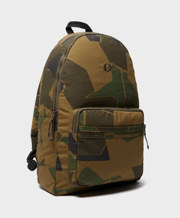 6d983d9ec3 Fred Perry X Arktis Camouflage Backpack | scotts Menswear