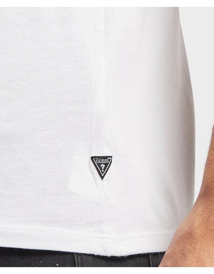 GUESS Triangle Logo Short Sleeve T-Shirt