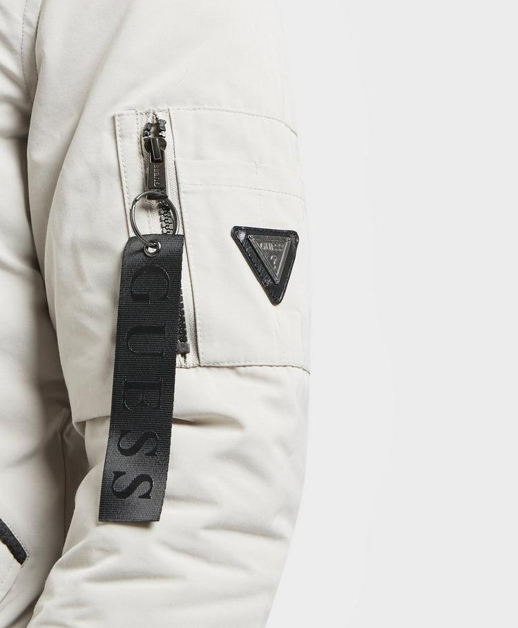 GUESS Tech Padded Aviator Jacket
