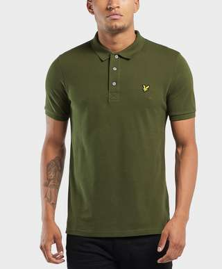 Lyle & Scott Plain Short Sleeve Polo Shirt