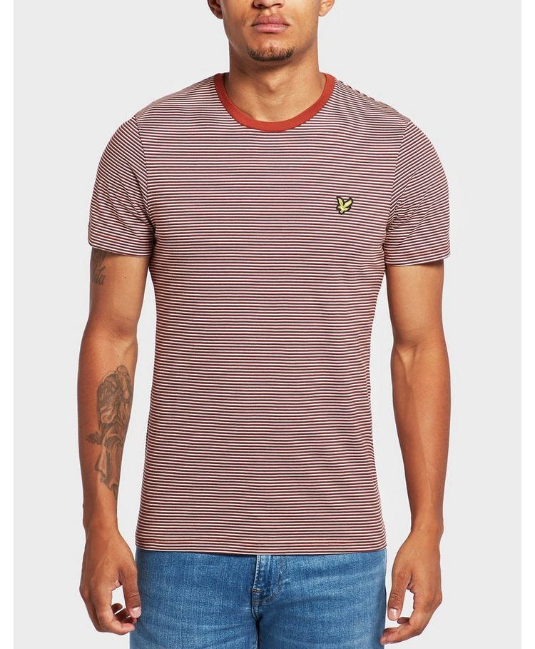 Lyle & Scott Feeder Stripe Short Sleeve T-Shirt