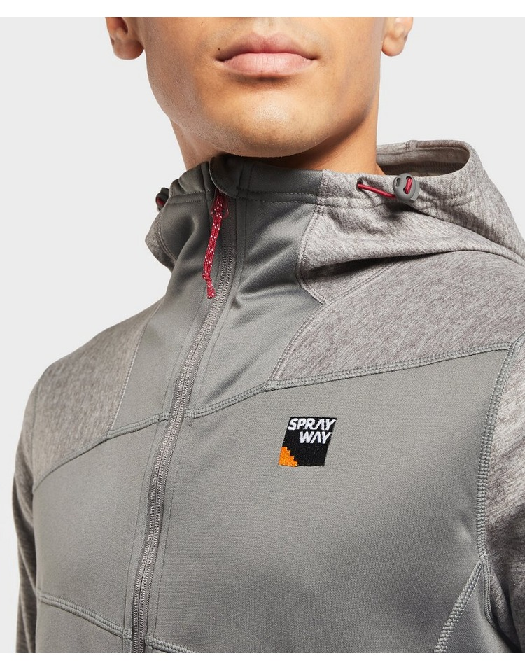 Sprayway Wodan Zip Through Hooded Fleece