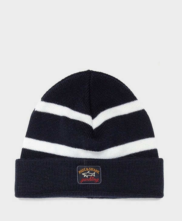 0cb8a6d0b4b85 Paul and Shark Stripe Beanie