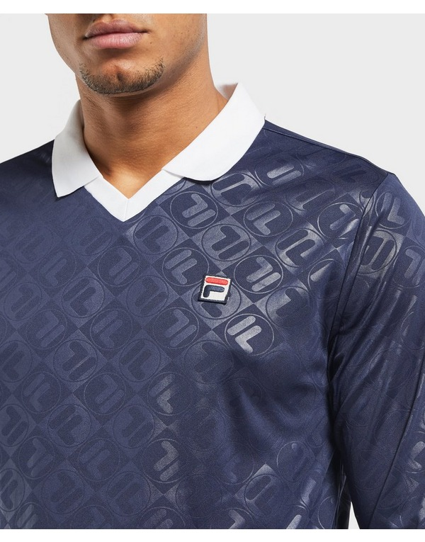 Fila Long Sleeve Football Polo