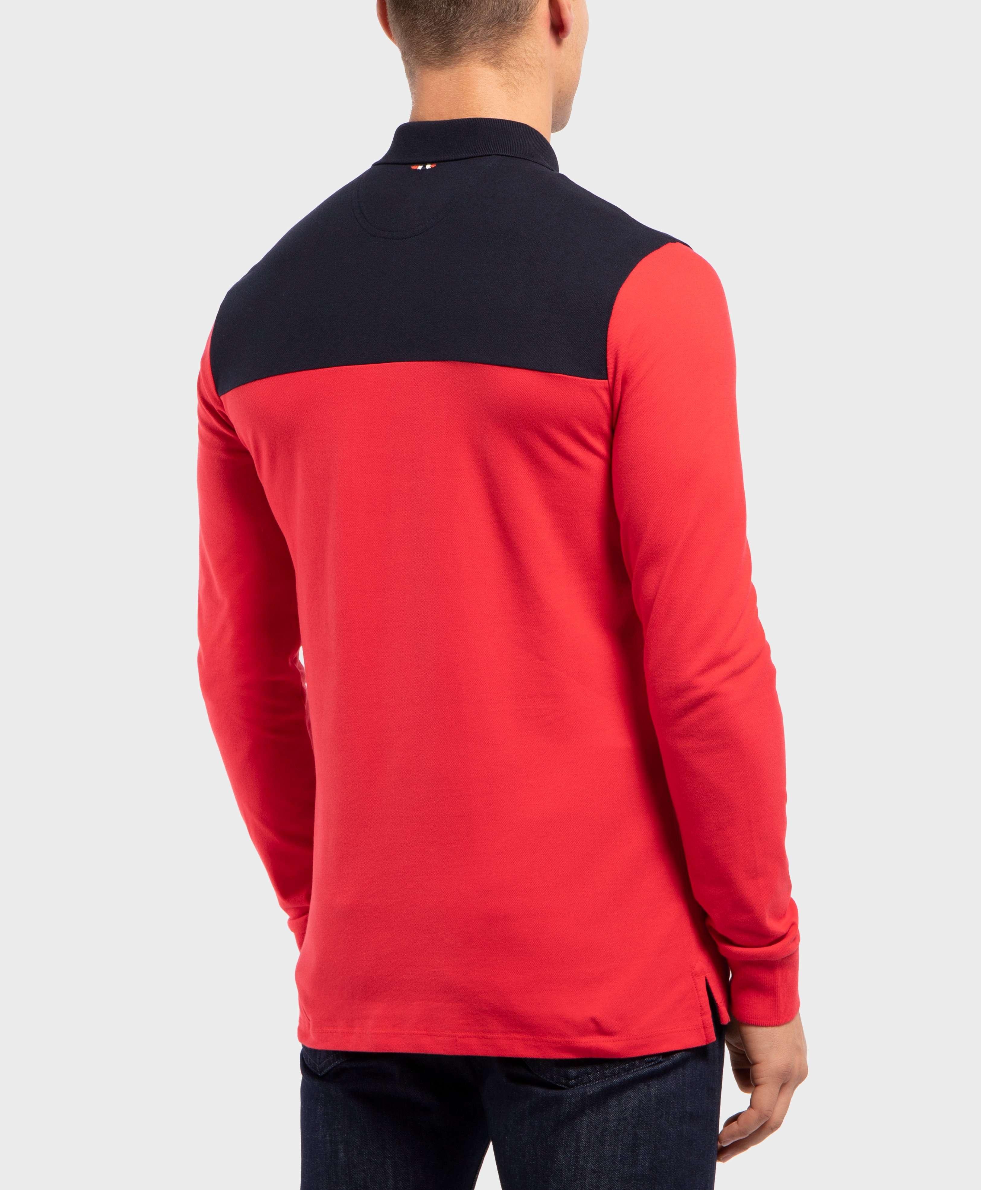 Napapijri Egils Long Sleeve Polo Shirt
