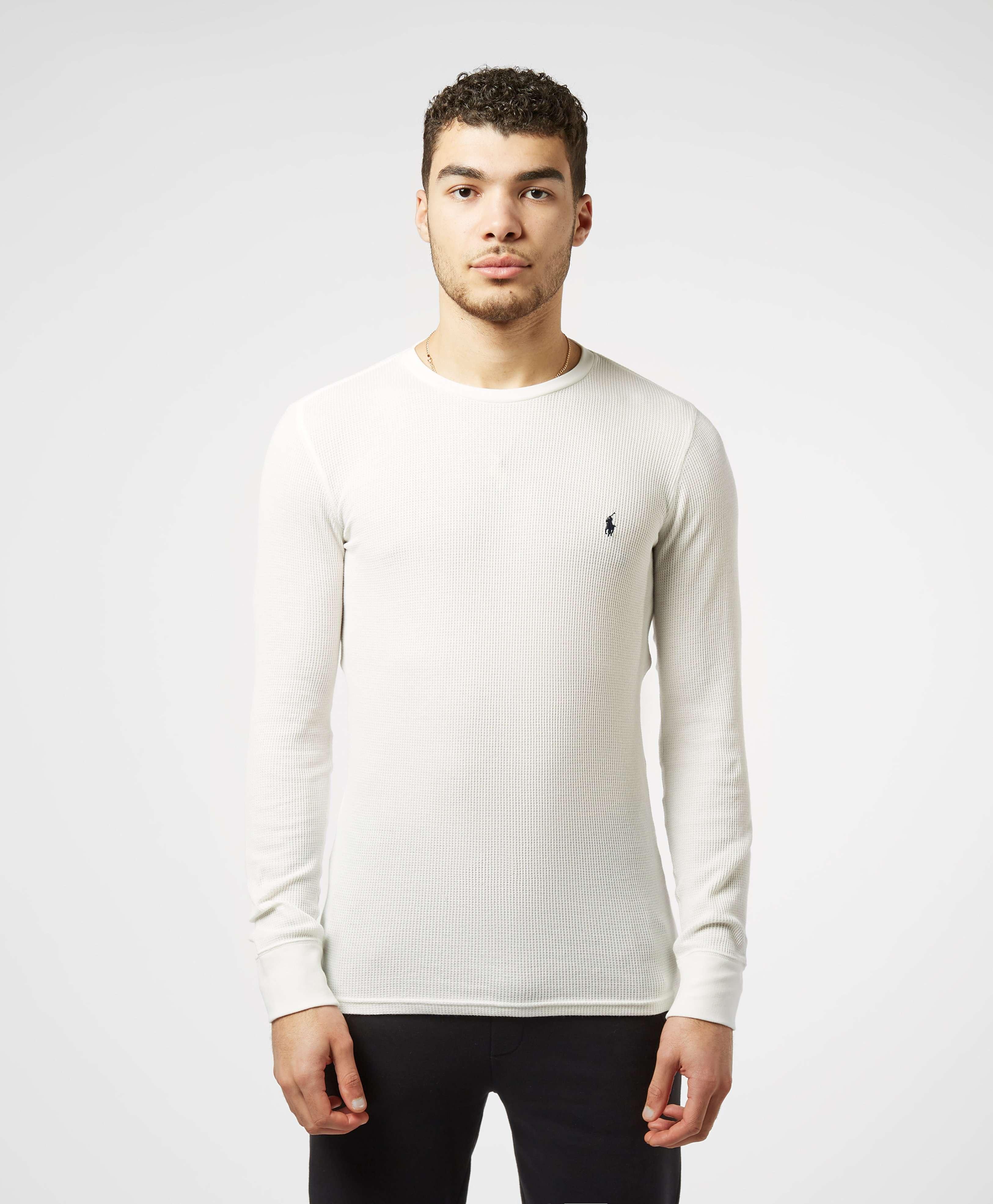 ShirtScotts Menswear Lauren T Underwear Waffle Polo Ralph Mini Long Sleeve ARjLq354