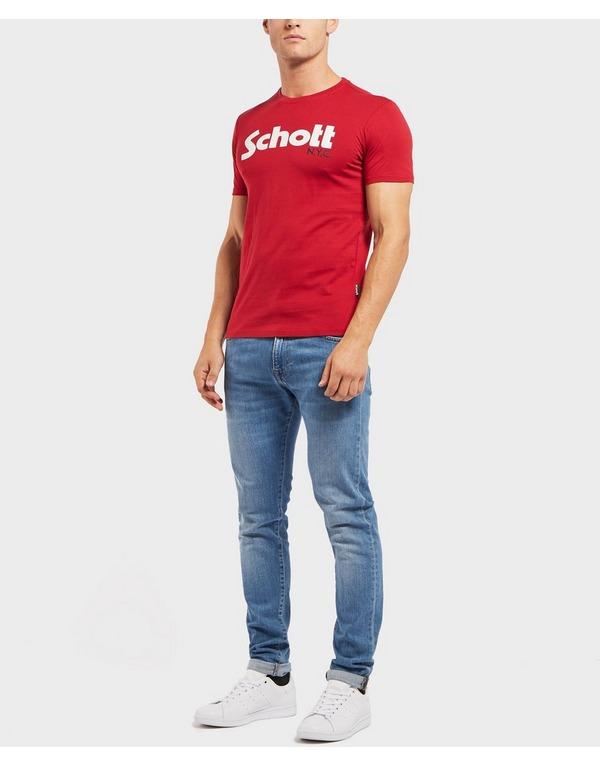 Schott Short Sleeve Logo T-Shirt