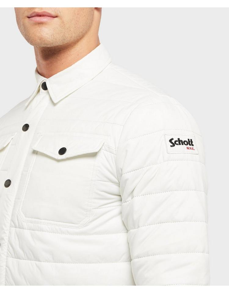 Schott Quilted Overshirt