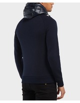 Tommy Hilfiger Mixed Baffle Full Zip Hoodie