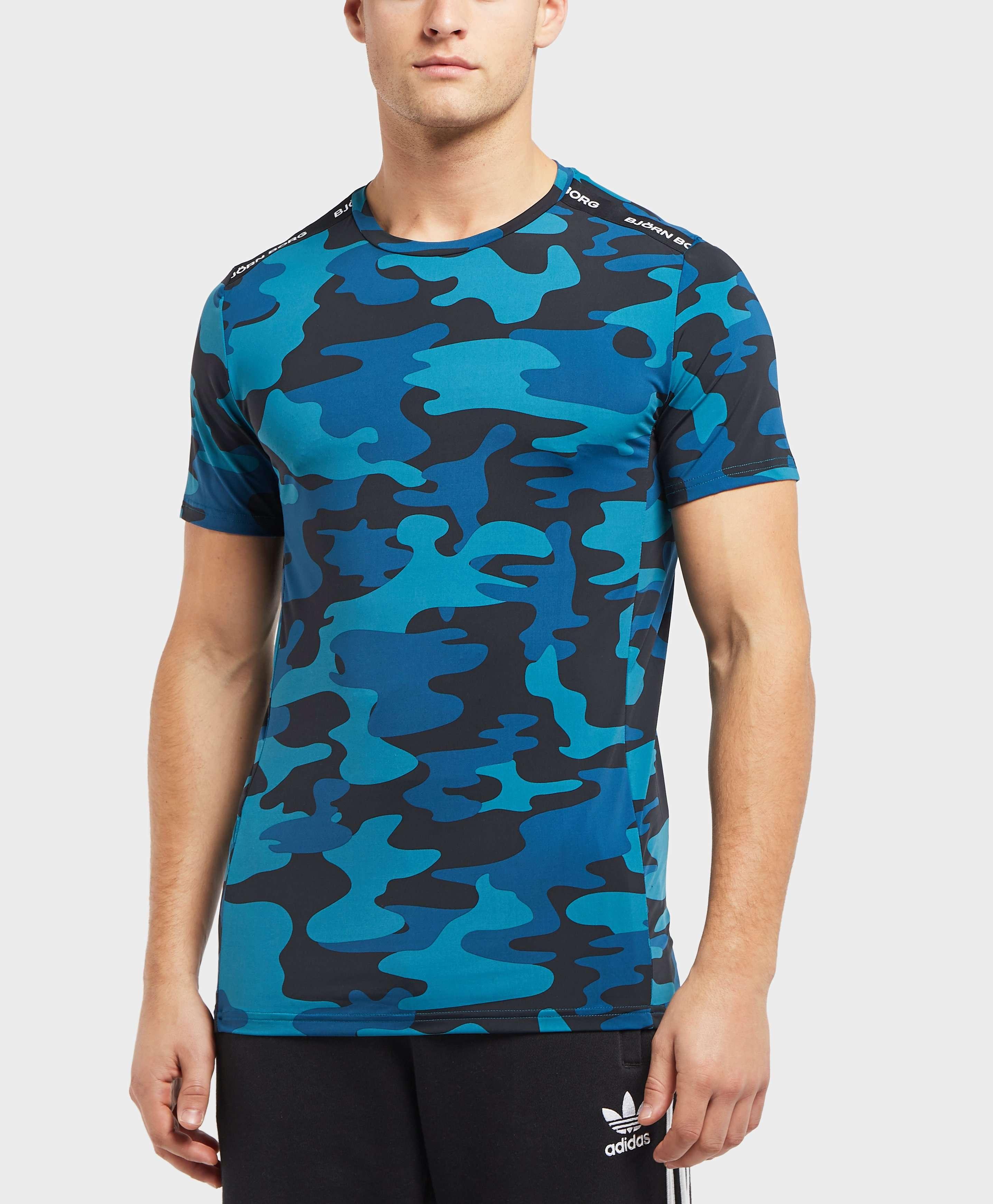 Bjorn Borg Hector Tape Camo Short Sleeve T-Shirt