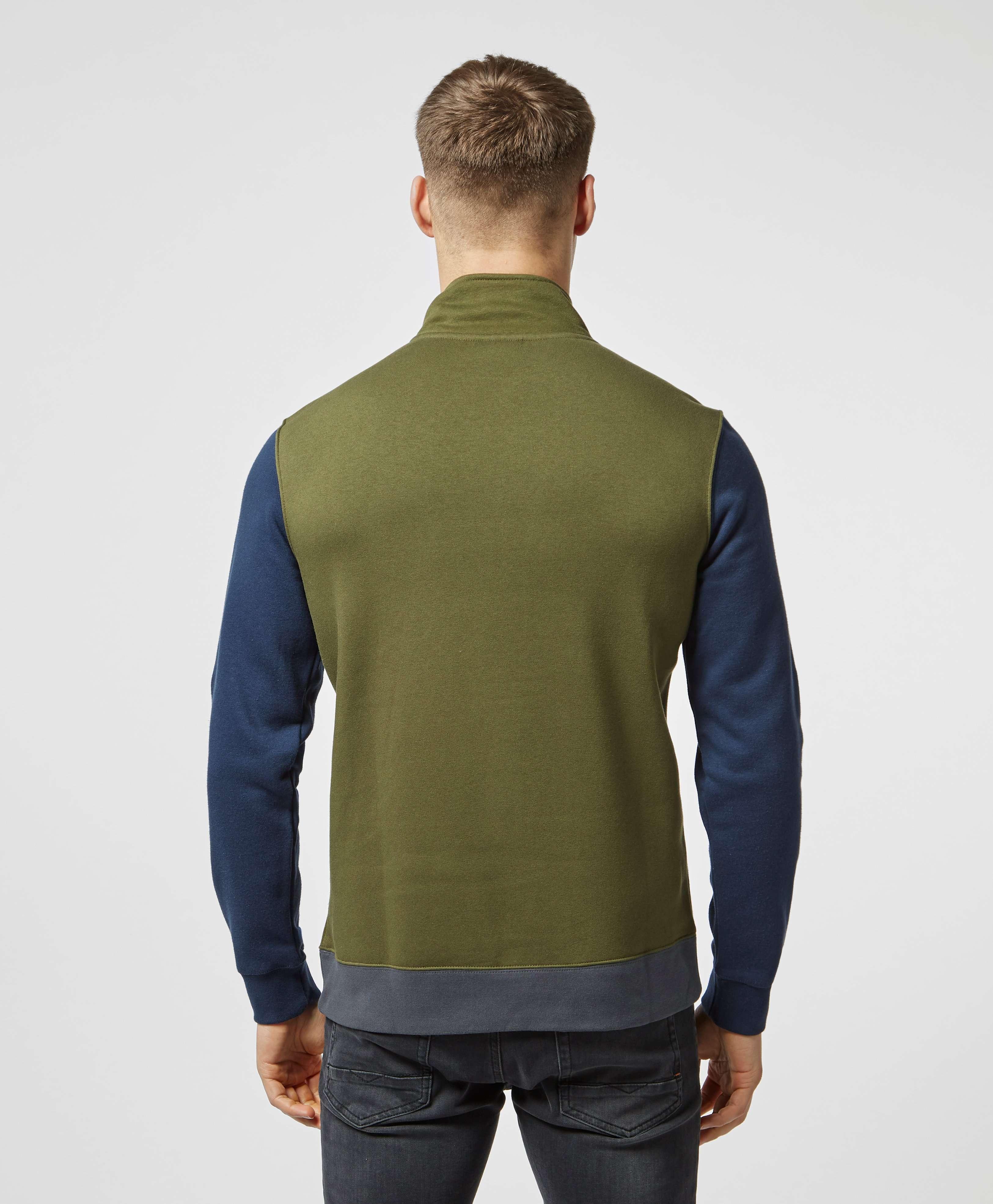 Nike Colour Block Half Zip Club Sweatshirt