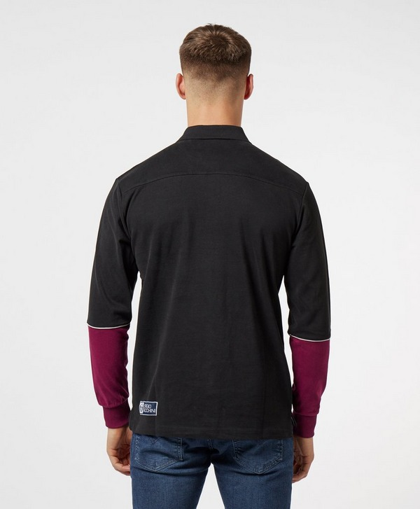 Sergio Tacchini Long Sleeve Polo Shirt