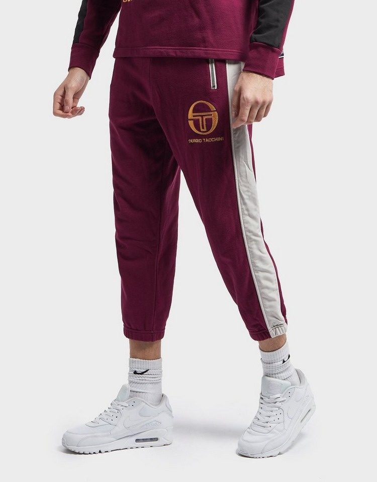 Sergio Tacchini Irbis Cropped Cuffed Fleece Pants