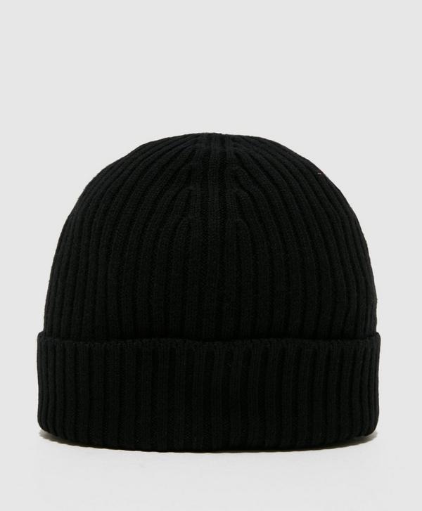 66300a2b Lacoste Knitted Logo Beanie | scotts Menswear