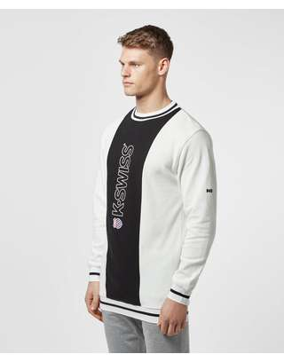 K-Swiss Stockton Pique Sweatshirt - Online Exclusive