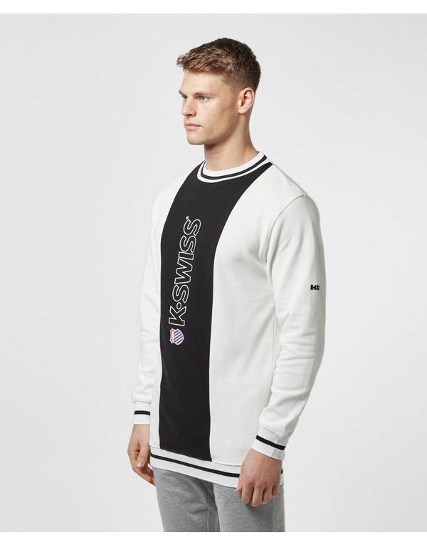 K-Swiss Stockton Pique Sweatshirt - Online Exclusive