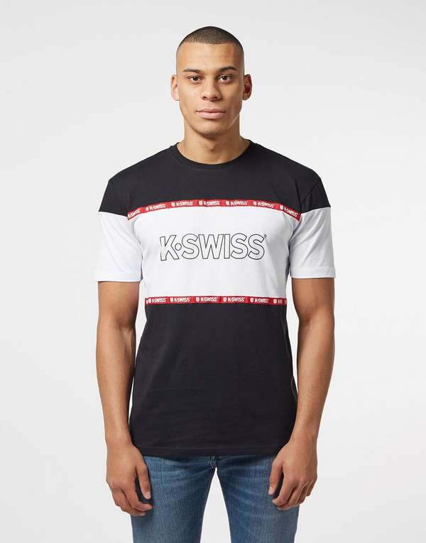 K-Swiss Crenshaw Short Sleeve T-Shirt - Online Exclusive