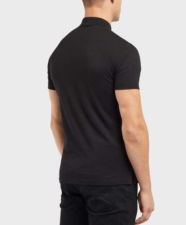 c219f1136 Versace Jeans Foil Logo Short Sleeve Polo Shirt | scotts Menswear
