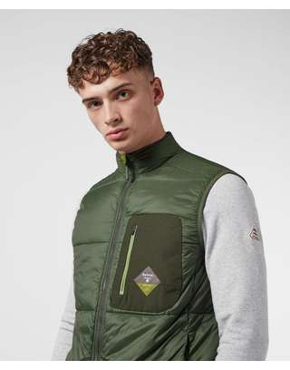 Barbour Beacon Kinder Quilted Gilet