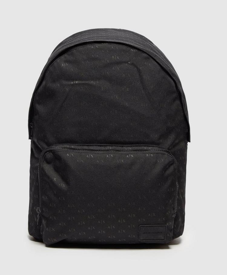 Armani Exchange Print Backpack