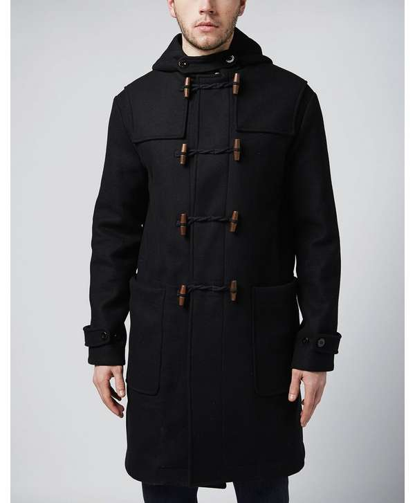aae59d7f0 Pretty Green Chadwick Duffle Coat | scotts Menswear