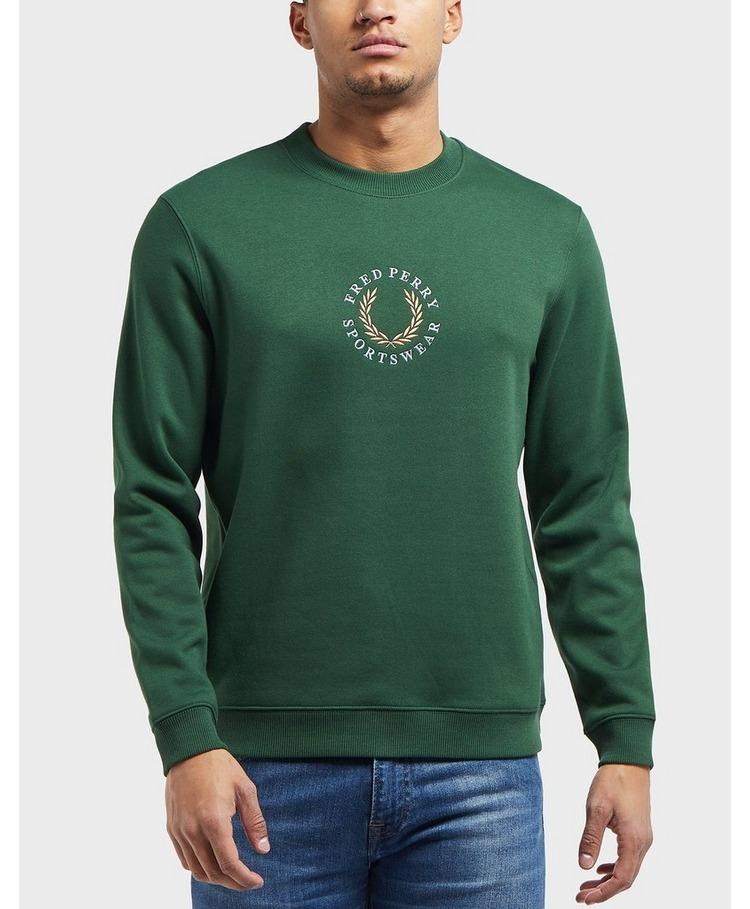 Fred Perry Arch Branded Sweatshirt