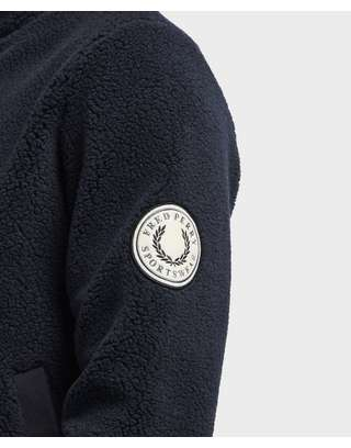Fred Perry Borg Full Zip Fleece Jacket
