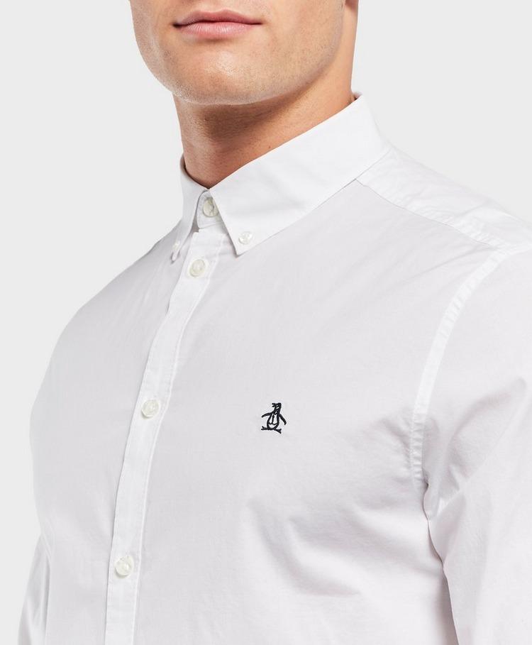 Original Penguin Long Sleeve Logo Shirt