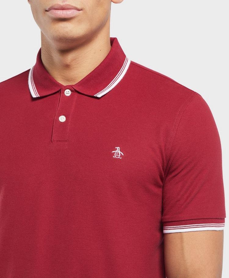 Original Penguin Short Sleeve Logo Polo Shirt